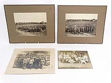 Militaria : A collection of WWI Military photographs , to include an unusual photo of a platoon of Swedish soldiers ( da