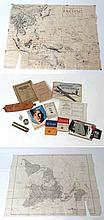 Militaria : A varied and unique collection of WWII British and American ephemera , comprising an Operation & Maintenance