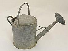 Watering can : An old galvanized 1 1 /2