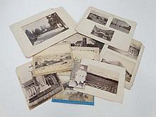 A collection of 19thC sepia photographs depicting the topography, people and culture of India . Taken by Fitzfames, S.H.