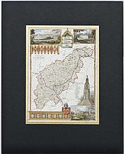 Maps:  '' Northamptonshire '' by Thomas Moule. c1850. From an engraving originally produced for the Rev. James Barclays