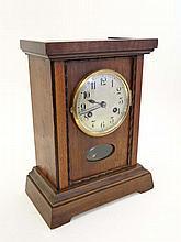Jurghans Mantle Clock : an 8 day 12 5/8