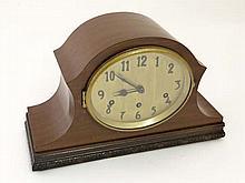 Art Deco 3 train Mantle Clock : a larger 9 3/4