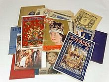 Books and Ephemera: A collection of commemorative Royal Family books and Newspapers. To include; A Coronation Souvenir b