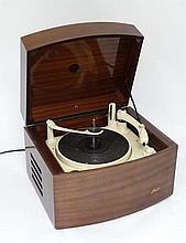 Vintage Retro : a mid - late 1950's Pye Monarch ' Black Box ' Hifi / Record Player with BSR three sp