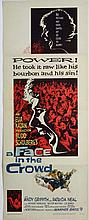 Film Poster: A poster for the 1957 film '' A Face in the Crowd '' , directed by Elia Kazan , screenp
