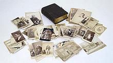 A large quantity of Victorian promotional portrait cards, with images by a range of photographers in