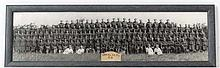 WWII : A company intake photograph of 483 Heavy Anti - Aircraft Battery , Royal Artillery .  483