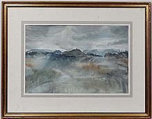 Arthur Butler XX Scottish School,  Watercolour,  ' ... By Loch Argyll',  Signed in penci