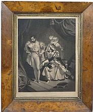 After W Nicolas (1808-1897) [ unusually engraved aswell by him Mezzotint ' Richard the 3rd persuadin