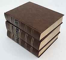 Books: '' Encyclopaedia Britannica .'' Volumes 1-3. Illustrated with 160 copper plate engravings by