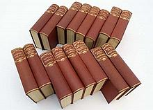 Books: A set of 16 books by Charles Dickens. To include: ''Nicholas Nickleby'', '' A Christmas Carol
