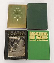 Books: A selection of four golfing books. To Include: '' The History of Golf in Great Britain''. 195