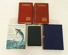 Books: A collection of 5 books on Angling. To include: '' Fly Dressers Guide ''. c1970. By John Veni
