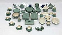 Retro Ceramics :Denby stoneware etc. comprising of   1pt jug, sm 2 handled open dish, 2 pt saucepan,