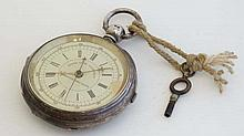 Pocket watch : a Patent Lever Chronograph stop watch, ' The Greenwich Time Keeper ',a pocket watch w