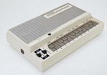 Musical Instruments : A mid 20thC Stylophone by Dubreq , the body and stylus with off - white finish