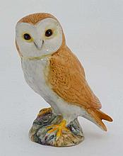 A Beswick figure of a barn owl. Model number 1046. 4  1/2'' high.