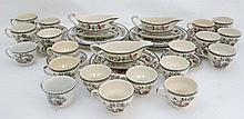 A large quantity of Johnson Brothers  '' Indian Tree '' dinner and tea ware. To include 19 cups, 6 s