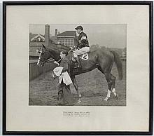 Horse Racing :  Kemsley Newspapers , Manchester , Monochrome phot