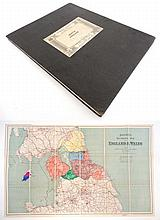 Map: '' North England '' published by Edward Stanford Ltd, London, in colou