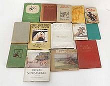 Books: A box of 14 equestrian books. To Include: