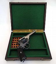 A deactivated early 20th Century Enfield / Webley Mk VI.455 British Officer