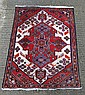 Carpet rug : a Persian Mazleghan hand made rug