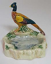 Beswick: pheasant pin / ashtray - an early 754
