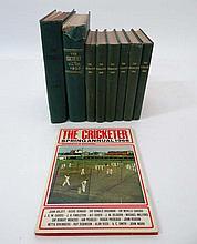 Books: A quantity of vintage Cricket almanacks The