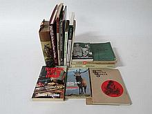 Books: A quantity of sporting books including