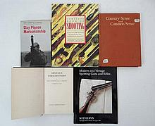 Books: Four books on shooting, including Fid