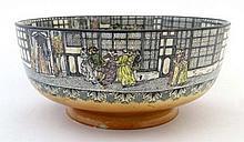 A Royal Doulton series ware fruit bowl, Queen