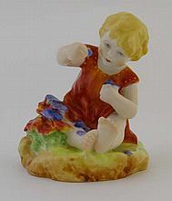 A Royal Worcester 'mischief' child figurine,