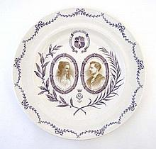 A Commemorative Mayor and Mayoress Royal Worcester