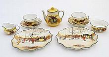 An early - mid 20thC Royal Doulton ''Coaching Days