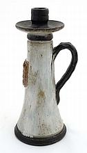 A Continental studio pottery Tavern tall handled c