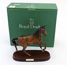 A boxed Royal Doulton 'Spirit of the Wind' bay hor