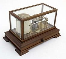 Barograph - MDS London an early mid 20thC bevelled
