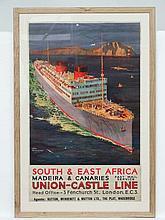 Travel Poster : An original 1920's travel poster,