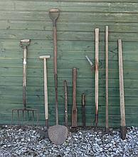 Architectural / Salvage :  an assortment of Agricu