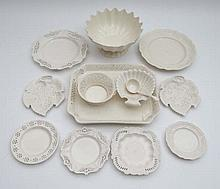 A quantity of contemporary Creamware items by