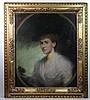 John Ernest Breun (1862-1921) Pastel oval with a