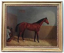 John Paul ( act. 1867-1886) Oil on canvas A Bay