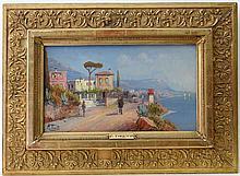 P. Toretti (Neapolitan School XX) Oil on canvas