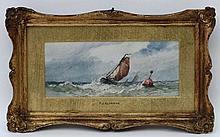 Frederick James Aldridge (1850-1933), Watercolour