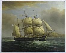 James Hardy XX Marine School,  Oil on board , ' An