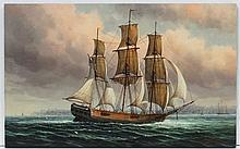 James Hardy XX Marine School, Oil on board, An Ame