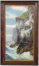 A Mortimer ( 1850-?) Scottish, Oil on canvas, 'West side of