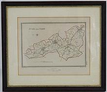 Map : An early 19thC map of ''Stoke Upon Trent
